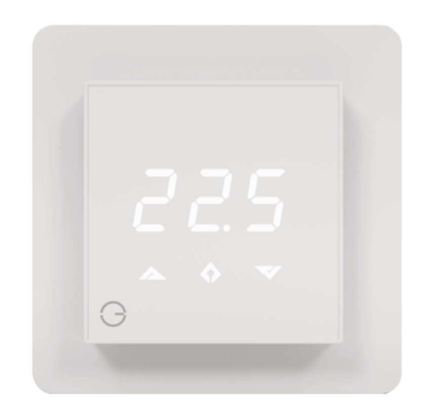Front view of the Powered Room Thermostat