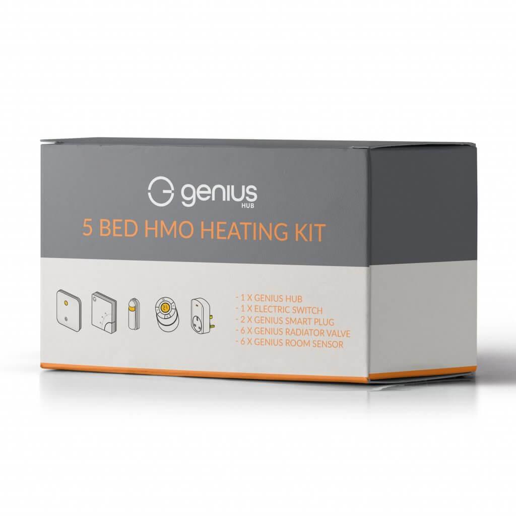5 Bed HMO Smart Heating Kit