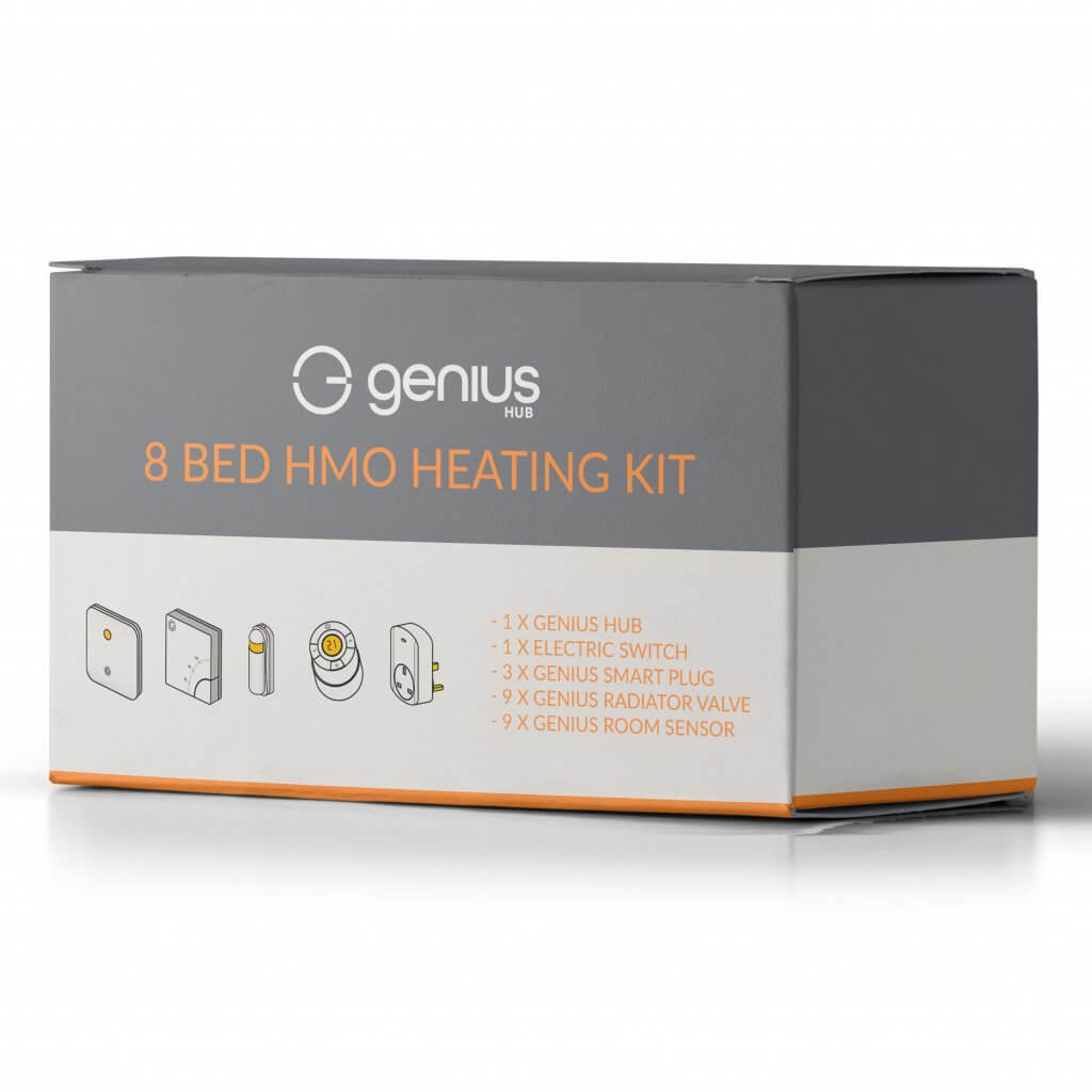 8 Bed HMO Smart Heating Kit