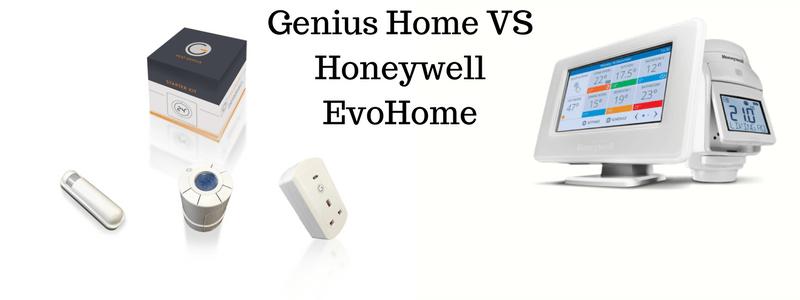 Genius Home VS Honeywell EvoHome