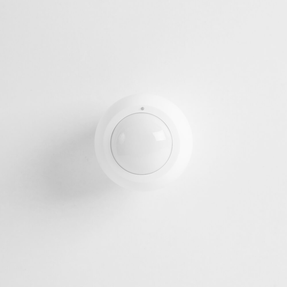 Front View of Wireless Motion Sensor