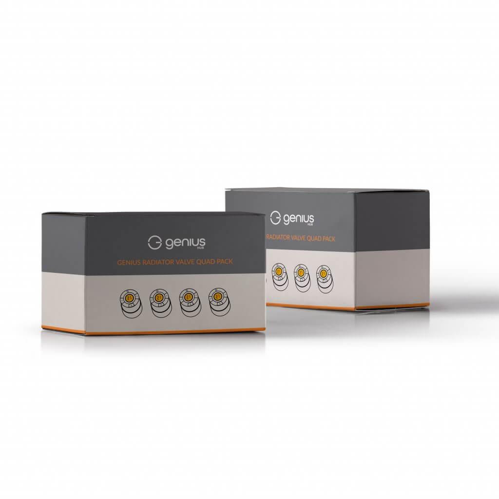 Genius Radiator Valve Eight Pack